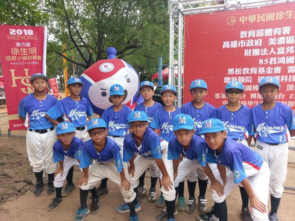 國光牌機油LUBY公仔,與您一起支持徐生明國際少棒錦標賽